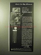 1961 Fujica Zoom 8 Movie Camera Ad - Big Difference