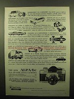 1960 Alpa 6c Camera Ad - Custom Built as a Limousine
