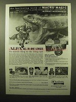 1960 Alpa 6b Camera Ad - Fascinating Macro Magic