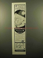 1960 Sekonic Brockway S Meter Ad - Proven Trusted