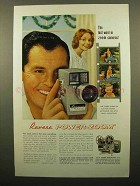 1960 Revere Power-Zoom CA-118D Camera Ad