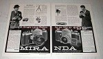 1959 Miranda Automatic C and S Cameras Ad - Top-Rated