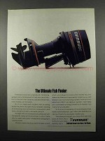 1990 Evinrude Outboard Motor Ad - Ultimate Fish Finder