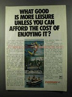 1978 Evinrude Outboard Motor Ad - Afford the Cost