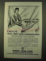 1928 IMM Cruise Ad - Choose Ships with Discrimination