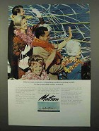 1969 Matson Lines Ad - Crazy, Romantic, Exciting