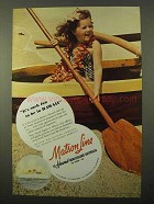 1941 Matson Line Cruise Ad - Such Fun to Be In Hawaii