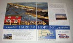 2003 American Cruise Lines Ad - Harbor Hopping