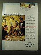 1999 Princess Cruises Ad - All These Choices