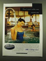 1998 Celebrity Cruises Ad - Don't Just Relax Me