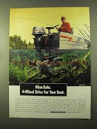 1993 Minn Kota Outboard Motor Ad - 4-Wheel for Boat