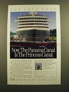 1989 Princess Cruises Ad - The Love Boat
