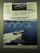 1987 Four Winns Freedom Boat Ad - A Group Picture