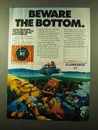 1987 Lowrance Digital Depth Sounder Ad - The Bottom