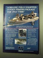 1984 Bayliner 1710 Trophy Boat Ad - Fully Equipped