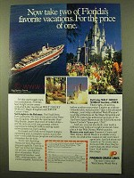 1984 Premier Cruise Lines Ad - Florida's Favorite