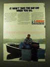 1982 Mariner 40 Outboard Motor Ad - Take the Day Off