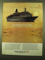 1980 Royal Viking Line Ad - Orient/China Cruise