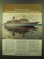 1979 Royal Viking Line Cruise Ad - Best Is Yet to Come