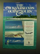 1997 Cayman Airways Ad - Ours & Yours