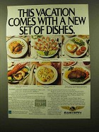 1985 Eastern Airlines Ad - A New Set Of Dishes
