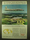 1959 Canadian Pacific Airlines Ad - Jet-Prop Britannias