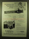1958 Aires 35-IIIL Camera Ad - The Viewfinder