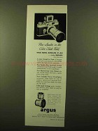 1957 Argus C-44 Camera Ad - New Leader in Color-Slide