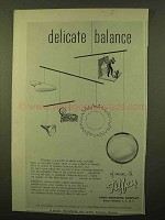 1957 Tiffen Filters Ad - Delicate Balance