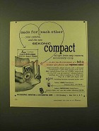 1956 Sekonic Compact Exposure Meter Ad - Made For