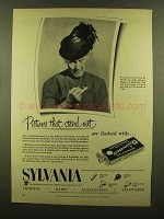 1953 Sylvania Flashbulbs Ad - Pictures Stand Out
