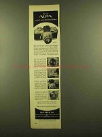 1953 Alpa 7 Camera Ad - World's Most Advanced 35mm