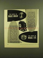 1953 Eumig 88 Movie Camera Ad - The Magic Brain