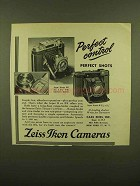1950 Zeiss Ikon Super Ikonta BX and B Camera Ad