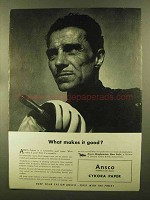 1944 Ansco Cykora Paper Ad - What Makes it Good?