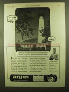 1943 Argus C2 Camera Ad - I Always Carry to Record