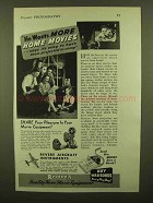 1943 Revere Movie Equipment Ad - He Wants More