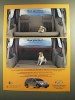 2001 Oldsmobile Silhouette Ad - Now You See It