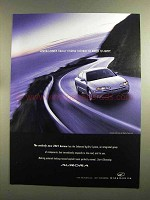 2001 Oldsmobile Aurora Car Ad - Highway To Adopt