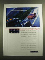 1999 Subaru Car Ad - By The Time You React, It Has