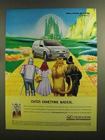 1999 Oldsmobile Silhouette Ad - Enter Something Magical