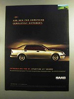 1998 Saab 9-5 Car Ad - Something Completely Different