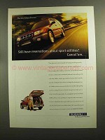1998 Subaru Forester Ad - Still Have Reservations?