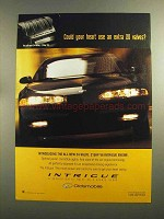 1998 Oldsmobile Intrigue Ad - Heart Use Extra 20 Valves