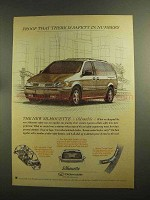 1997 Oldsmobile Silhouette Ad - Safety in Numbers
