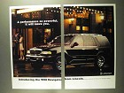 1998 Lincoln Navigator Ad - A Performance So Powerful