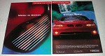 1997 Pontiac WideTrack Grand Prix Car Ad - Wider Better