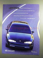 1996 Oldsmobile Aurora Ad - Doesn't Start at $36,400