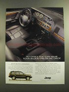 1996 Jeep Grand Cherokee Limited Ad - So Quiet