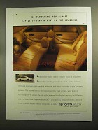 1995 Toyota Avalon Ad - So Pampering
